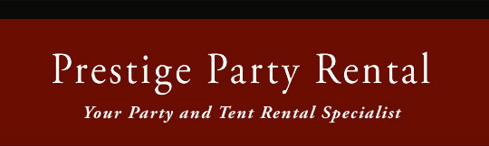 Premium Tent and Party rentals to make your event spectacular